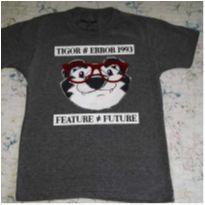 Camisa cinza - 6 anos - Tigor T.  Tigre