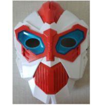Máscara eletrônica infantil CyberRobô -  - Não informada