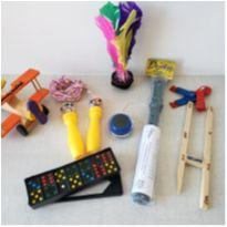 Kit de brinquedos antigos anos 70, 80 - 7 peças -  - Não informada
