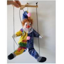 Boneco Marionete de palhacinho -  - Não informada