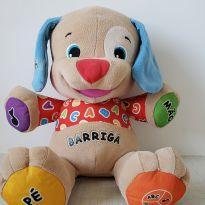 Cachorrinho musical de pelúcia Aprender e Brincar da Fisher Price -  - Fisher Price