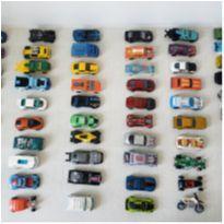 Lote kit Carrinhos Hot Wheels Mattel  - 60 peças -  - Hot Wheels e Mattel