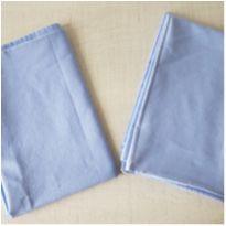 Fronhas algodão azul Santista 2 unidades -  - santista