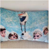 Almofada azul fofinha Frozen Olaf -  - Não informada