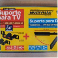 Kit suporte para TV com suporte para DVD - NOVO NA CAIXA! -  - Não informada