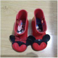Bota Minnie Mickey Mini Melissa - 23 - Melissa