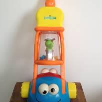 Brinquedo para empurrar da Vila Sésamo Mattel - Sem faixa etaria - Mattel