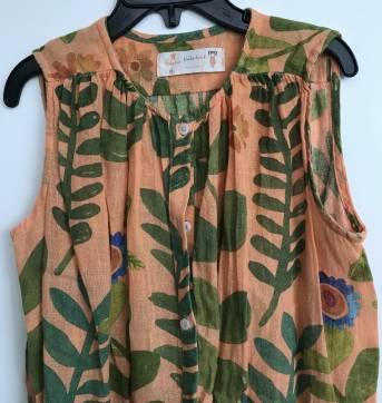 Vestido linho Fábula tam 6 - 6 anos - Fábula