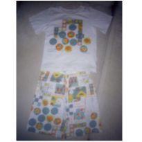 Pijama Sonhart estampa Jogos número 4 - 4 anos - Sonhart