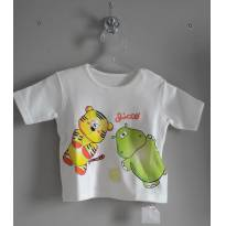 Camiseta Baby tigre hipopótamo Chicco - 6 meses - Chicco