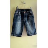 bermuda jeans puc 8 anos - 8 anos - PUC