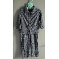 Pijama Em Flanela Infantil Jogê - 2 anos - Jogê Kids