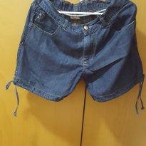 Short Jeans Gestante Anne Kanner - M - 40 - 42 - Anne Kanner