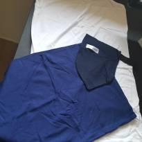 Kit REGATA FREEDOM Branco e cinta SOS Barriga Azul - Agora sou mae - G - 44 - 46 - Agora Sou Mãe