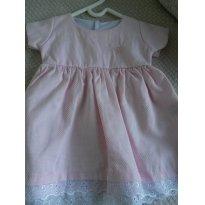 Vestido - 6 a 9 meses - Basic + Baby