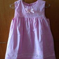Vestido de tecido bem delicado - 2 anos - EPK
