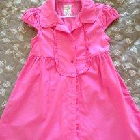 Vestidinho em tecido - 18 meses - Baby Club