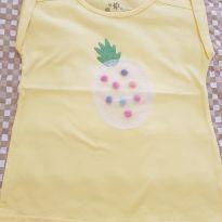 Blusa amarela - 4 anos - Alphabeto