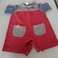 Romper fashion - 3 a 6 meses - Green