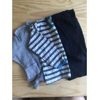 lote 3 camisas manga longa 2 anos - 2 anos - Hering Kids e Várias