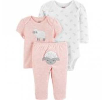 Kit Carter´s (Child of Mine) - 3 a 6 meses - Carter`s