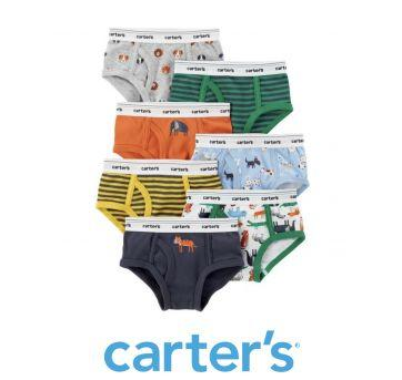 Kit Cueca Carter's Bichinho - 4 anos - Carter`s