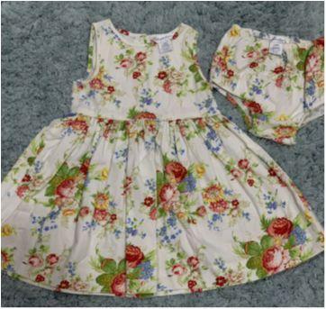 Vestido Floral Polo Ralph Lauren - 2 anos - Ralph Lauren