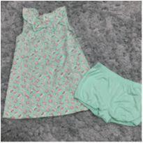 Vestido + Calcinha Carter´s - 2 anos - Carter`s