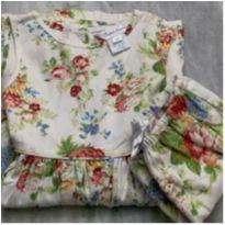 Vestido Floral  Ralph Lauren - 2 anos - Ralph Lauren