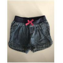 Short jeans bebe - 12 a 18 meses - Cherokee