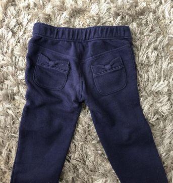 Calça florzinha - 4 anos - Carter`s e Gymboree