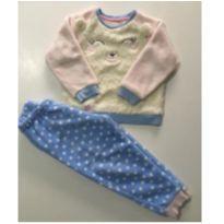 Pijama em fleece - 4 anos - navystar