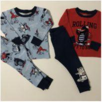 Kit pijamas monstrinho - 1 ano - Carter`s e CARTERS/TIPTOP/ZARA