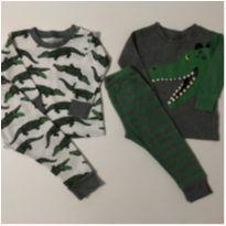 Kit pijamas jacaré - 1 ano - Carter`s e CARTERS/TIPTOP/ZARA