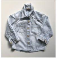 Camisa jeans - 9 meses - Milon e Zara