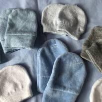 8 pares de luvas - Recém Nascido - Não informada