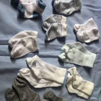 10 pares de meias - Recém Nascido - Não informada
