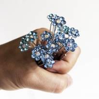 bouquet de grampinhos e presilhas