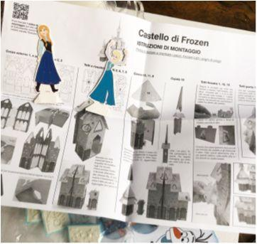 caixa com surpresas Frozen - Sem faixa etaria - Disney