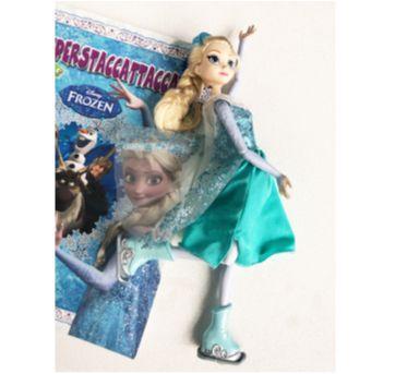Boneca Elsa patinadora - Sem faixa etaria - Disney