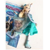 Boneca Elsa patinadora -  - Disney