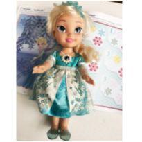 Boneca Elsa cantora -  - Disney