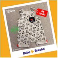 Macacão verão Minnie - 0 a 3 meses - Disney baby