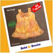 Vestido Lindo da Lilica Baby - 6 a 9 meses - Lilica Ripilica Baby