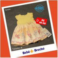 Vestido Lindo - 6 meses - Paraíso
