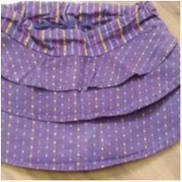 Shorts saia bolinhas - 1 ano - Lilica Ripilica