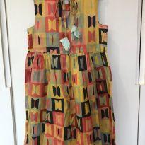 Vestido estampado - 6 anos - Fábula