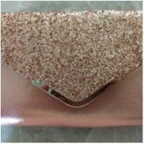 Bolsa /carteira Rosa Com Gliter Para Festa De Luxo Nova -  - Sem marca