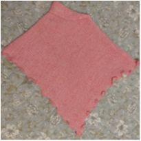 Poncho Rosa Para Bebês De Até 24 Meses - 18 a 24 meses - Sem marca