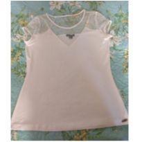 Blusa Branca Zinzane Tamanho M - M - 40 - 42 - zinzane
